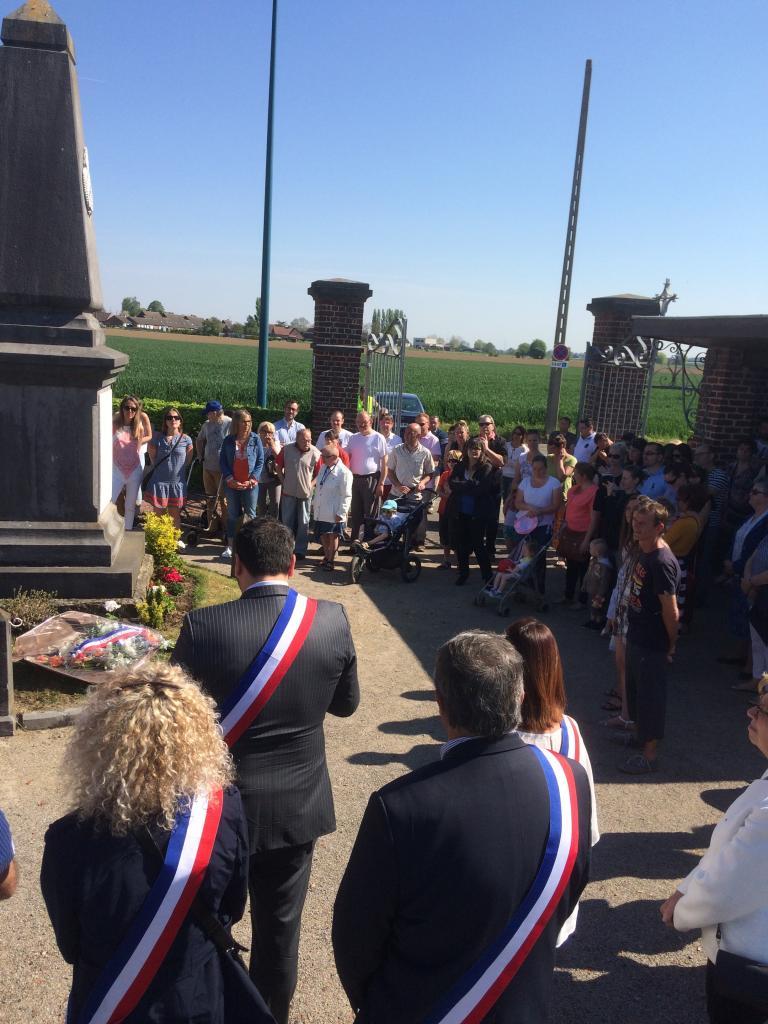 Commémoration de la Victoire - 8 mai 2016