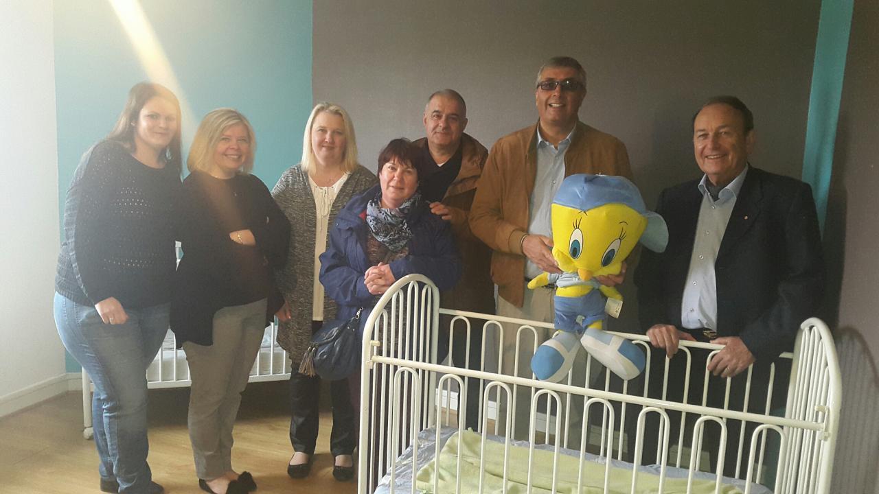Inauguration de la maison d'Assistantes maternelles