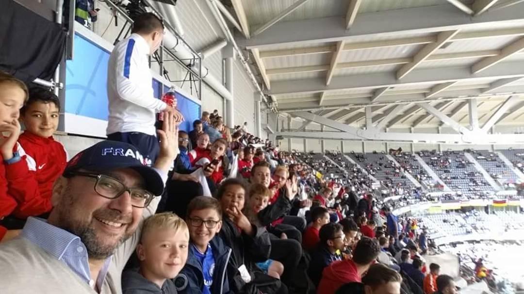 Match Euro Allemagne Slovaquie avec les ados de l'espace Jeunes