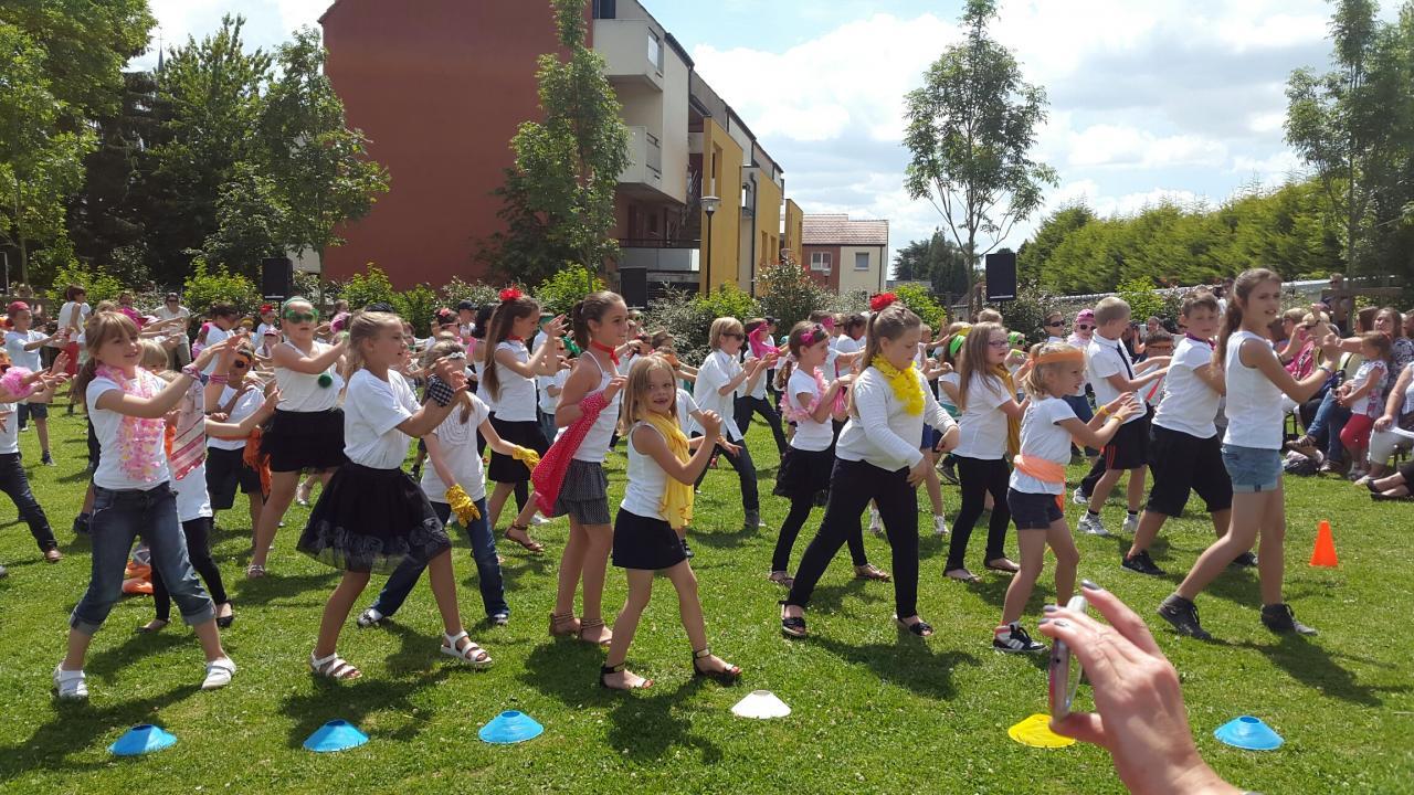 Fête de fin d'année scolaire Ecole Condorcet 2015