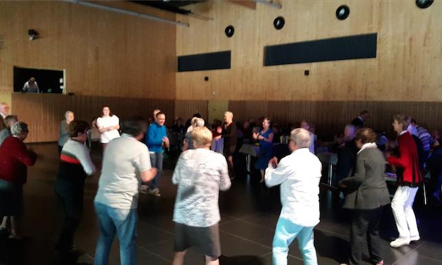 Après-midi dansant des aînés 2015