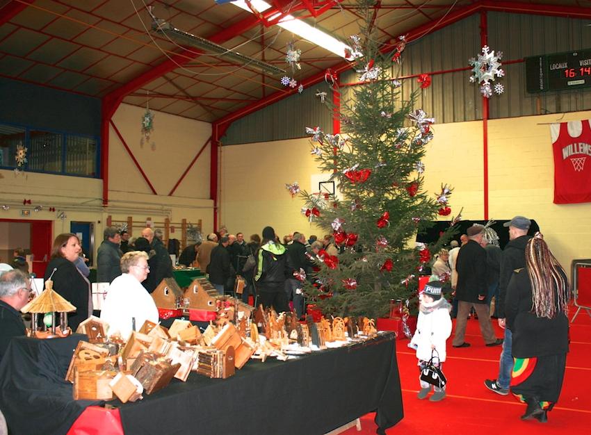 Marché de Noël de Willems déc 2015