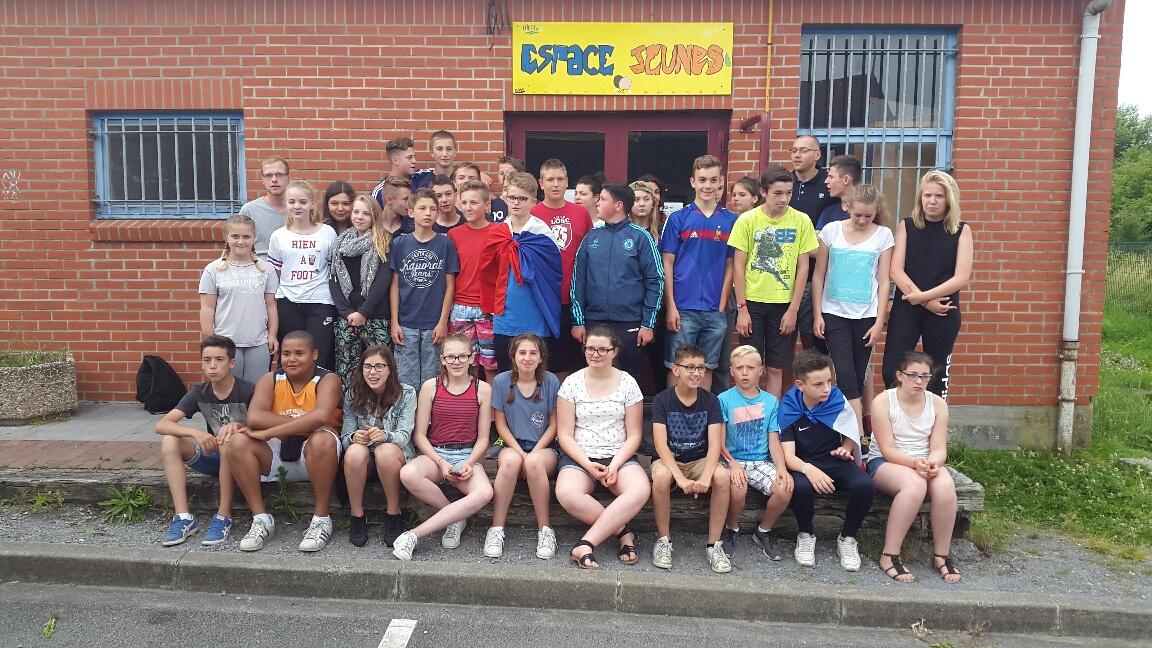 Départ du Camp Ados 2016 pour Langeac