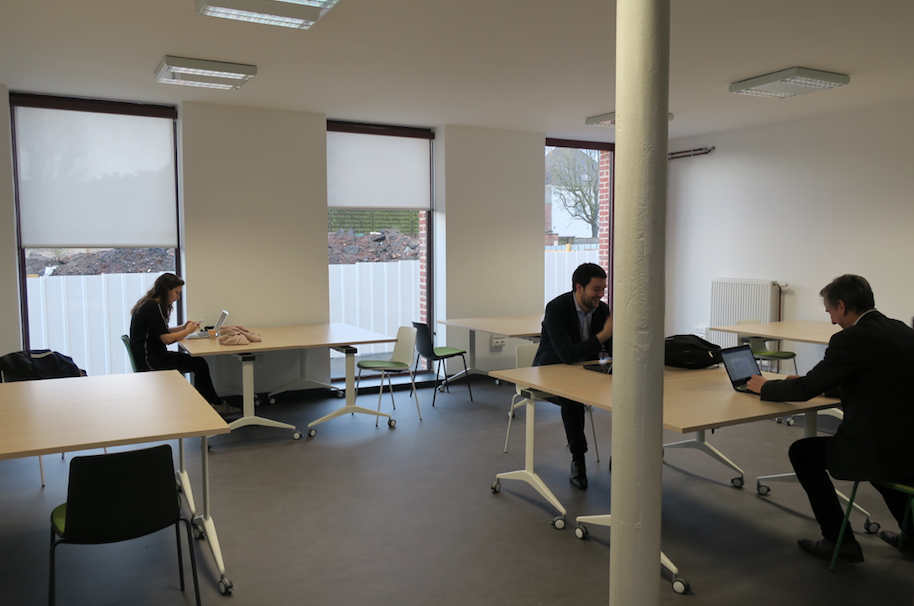 Espace CoWorking Willems salle de travail