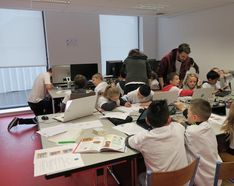 Hackaton des enfants atelier création jeu