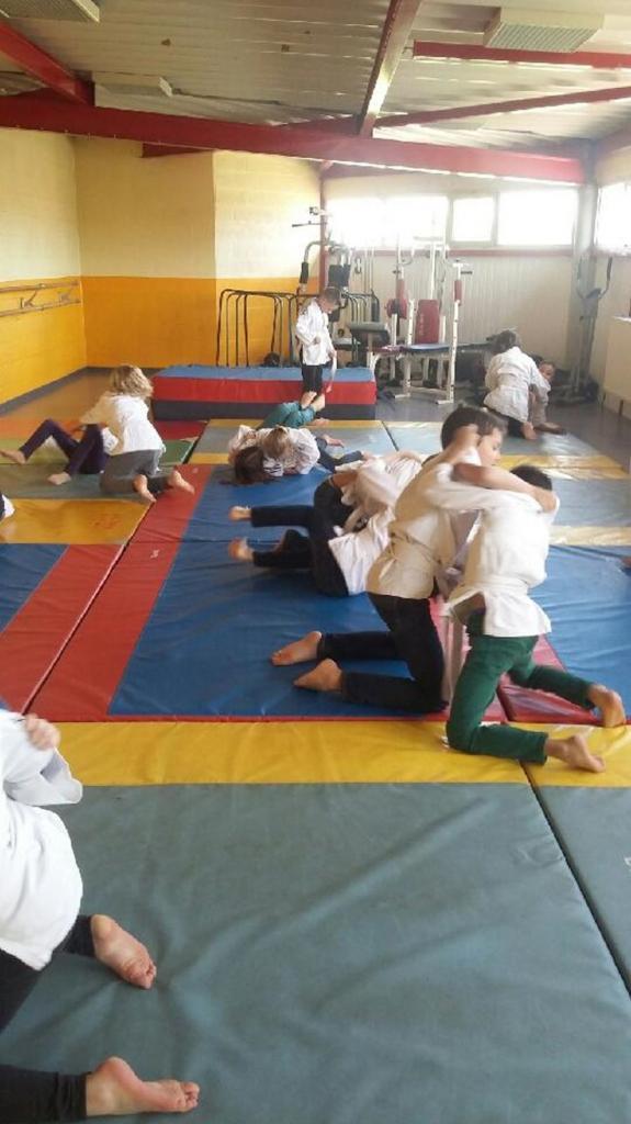 NAP judo classe MMes bergem et Dehondt