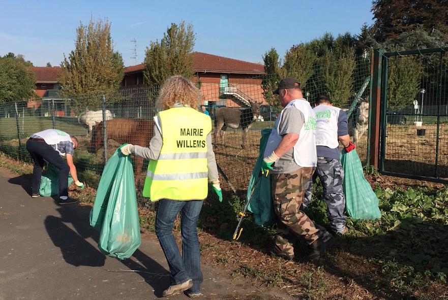 Nettoyons la nature à Willems Sept 2016 2