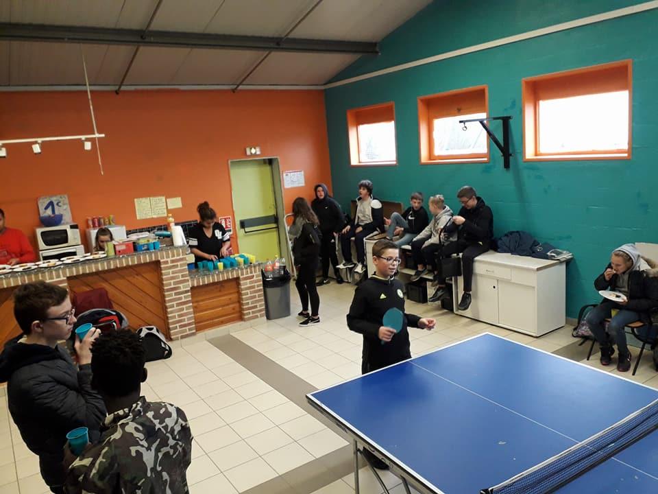 Rencontres inter espace jeunes avec la maison des jeunes de Leers et Estampuis2