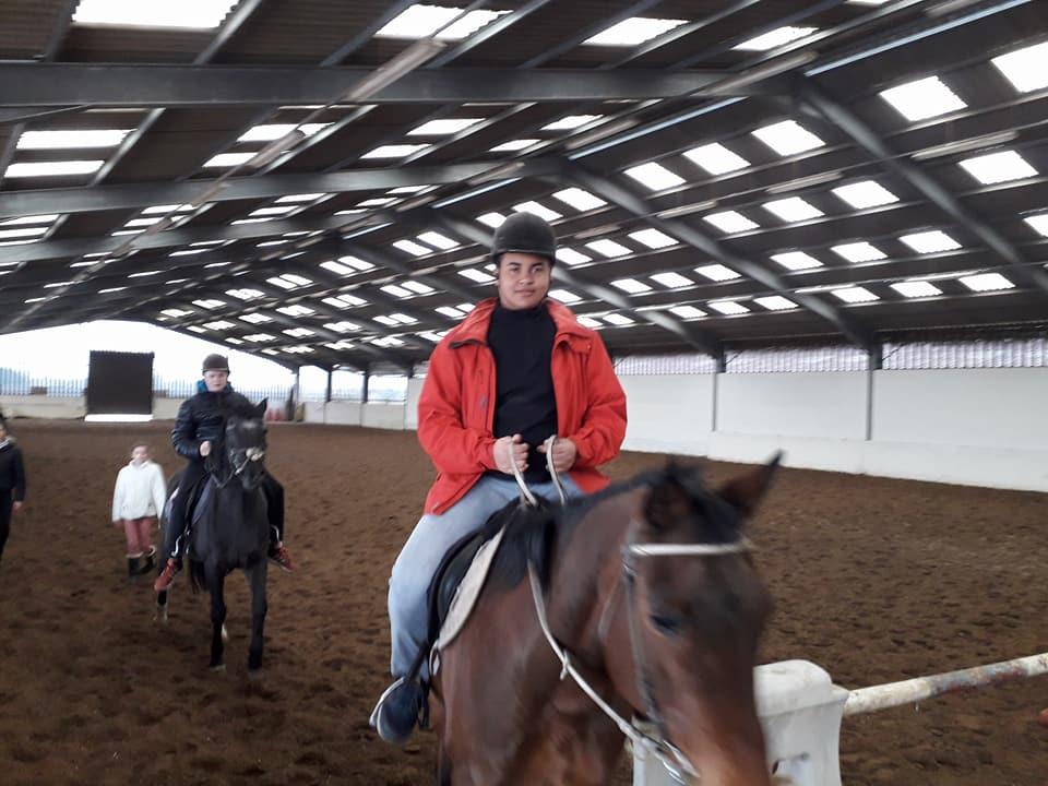 Sortie équitation aux écuries de Willems